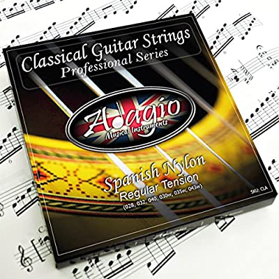 Adagio Pro CLASSICAL Guitar Strings - Normal Tension Nylon