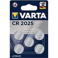 VARTA Varta 6025101401 - Knopfzellen-SET 5x CR 2025 Electronic