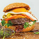 Wagyu Steakhouse Burger 4 x ca. 170 g + handmade Bread -