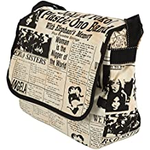 Unisign - Bolso bandolera para mujer - Mediano - Messenger Bag