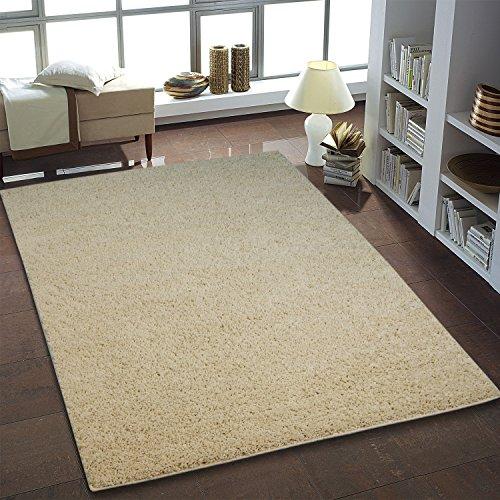 Shaggy Teppich Hochflor Langflor Teppiche fürs Wohnzimmer und Schlafzimmer geeignet sowie für die Küche und Kinderzimmer Ökotex 100 zertifiziert (200X250...
