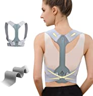 WNIEYO Updated Posture Corrector for Men and Women,Adjustable Upper Back Brace for Clavicle Support and Providing Pain Relie