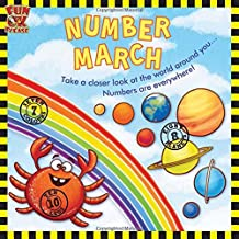 Number March - See fixed sets of numbers around you, develop pre - maths skills, Picture Book with GK