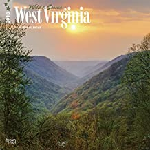 2018 West Virginia, Wild & Scenic Wall Calendar