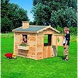 Spielhaus Villa Spatzennest Kinderhaus Gartenhaus Komplett-Bausatz