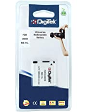 Digitek Battery for Canon NB-11L for Canon PowerShot A2300, 2400 IS, A3400 IS, A4000 IS, IXUS 125 HS
