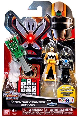 Power Rangers Super Megaforce Legendary Ranger Key Pack Roleplay Toy [Lost Galaxy] by Bandai