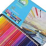 YONGJUN 72 Farbe Eisen Wasserlösliche Farbe Bleistift Kunst Malerei Füllfarbe Lösliche Farbe Bleisatz