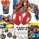 Blaze e the Monster Machines Festa Finale Forniture Kit per 8