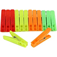 Sinco Super Cloth Clips Pegs Multicolor - Pack of 1 (12 Pieces)