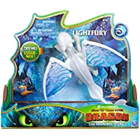DreamWorks Dragons Lightfury Deluxe Lights and Sounds figure