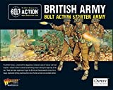 Bolt Action WW2 British Starter Army Set - 59x 28mm Miniatures - 1x Cromwell Tank - 3 Artillery by Bolt Action