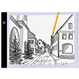 DRESS_start D_s A4 ultradünner beweglicher LED-Leuchtkasten USB-Energie Artcraft, der Licht-Auflage für das Zeichnen zeichnet Weiß
