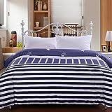 Puro algodón solo duvet cover/Otoño/invierno cálidos edredones/ edredón de estilo sencillo y moderno-A 220*240cm(87x94inch)