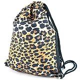 YEEPSPORT Bolsa para zapatos, leopardo (Amarillo) - T3dx-140