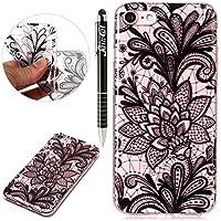 iPhone 8 Hülle,iPhone 7 Hülle,SainCat Kreativer Cartoon Federn Blumen Muster TPU Schutz Handy Hülle Handyhülle... preisvergleich bei billige-tabletten.eu