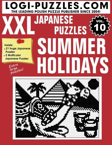 XXL Japanese Puzzles: Summer Holidays: Volume 10