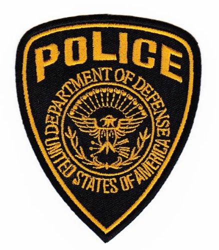 Aufnäher Bügelbild Uniform US Police Special Forces (Polizei Kostüm Diy)