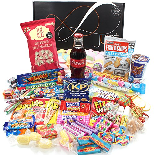 Retro Sweets Gift Hamper  a Twist - Just Treats