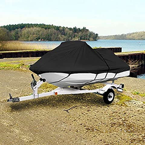 NEH® Black Trailerable PWC Personal Watercraft Cover Covers Fits 2-3 Seat Or 139