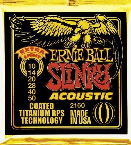 Ernie Ball Slinky Acoustic Coated 010-050 Rost Ball