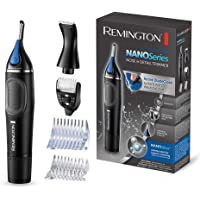Remington Hygiene Clipper Lithium NanoSeries NE3870, Trimmer für Nasen-, Ohren- & Augenbrauenhärchen, inkl…