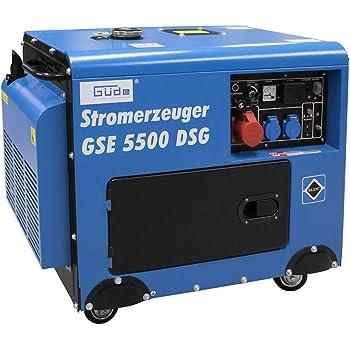 STROMERZEUGER GSE 5500 DSG