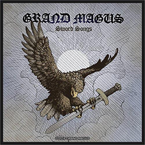 Preisvergleich Produktbild Grand Magus Sword Song Aufnäher Grand Magus Patch - Gewebt & Lizenziert !!
