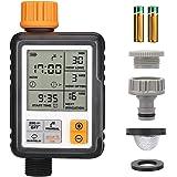 """Johgee Irrigatie Automatische Irrigatiesystemen, Waterdicht Geschikt voor Buiten, Multifunctioneel, 3""""LCD-scherm, 2 AA-batter"""