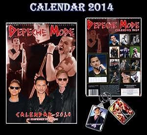 DEPECHE MODE 2014 KALENDER VON DREAM + FREE DEPECHE MODE Schlüsselring KEY RING