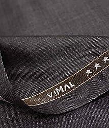 Vimal Mens Polyblend 1.25m Dark Brown Trouser Fabric