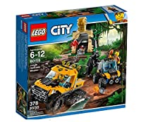 Esplora i selvaggi segreti della giungla di LEGO® City Guida il potente semicingolato e il veloce fuoristrada al tempio. Sposta la pietra e recupera il diamante, ma fai attenzione al ragno gigante a guardia del tesoro Oh no, c'è una pantera in agguat...