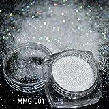 Veena Effect Glitter Sequins Iridescent Nail Star Dust Glitter 5 Grams1 Box Or 1 Oz - Perfect For Soap Making ~ Nail Polish ~ Resin