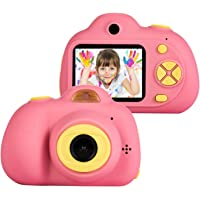 Smars® Mini Digital Children's Kids Camera with IPS HD Screen 100 Degree Toy Photography Video Kids Camera for Kids Gift