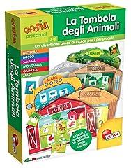 Idea Regalo - Lisciani Giochi 60856 - Carotina Plus Tombola Degli Animali