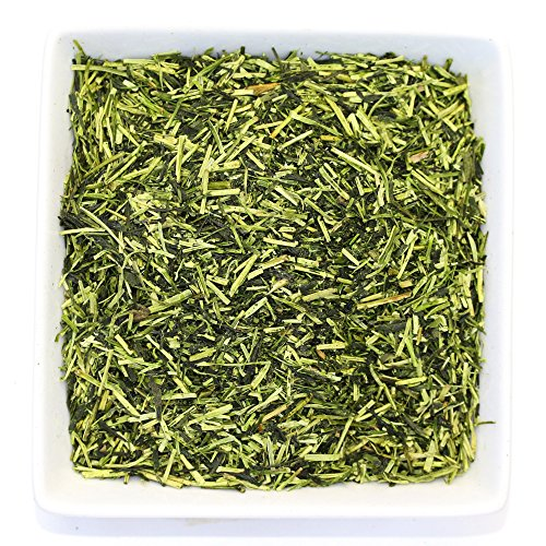 Tealyra - Premium Kukicha Twig Kabuse - Organically Grown - Green Tea from Japan - Mild Slightly Nutty Flavour - High Level of Antioxidants - Caffeine Level Low - 200g