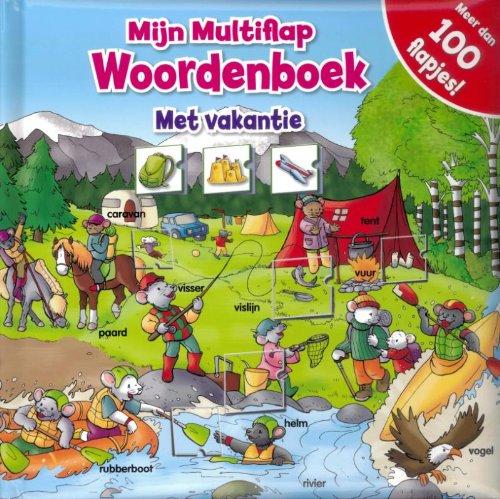 Mijn multiflap woordenboek - Met vakantie: Multiflap - Holiday - DUT - VB