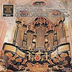 Johann Sebastian Bach -- Karl Richter - Berühmte Orgelwerke - Decca - SMD 1231