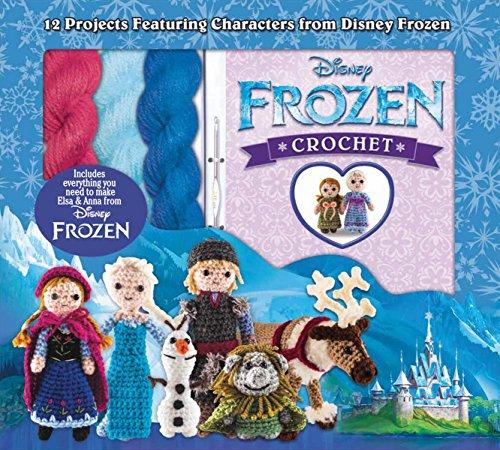 Disney Frozen Crochet: 12 Projects Featuring Characters from Disney Frozen por Kati Galusz