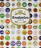 Leuchtturm Kronkorken-Album | Für insgesamt 210 gebrauchte Kronkorken | Sammelalbum mit 5 schwarzen Compart Hüllen zur Aufbewahrung Ihrer Kronkorken