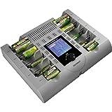 VOLTCRAFT Charge Manager CM2024 Batteriladdare NiCd, NiMH, NiZn AAA (R03), AA (R6), C (R14), D (R20), 9V block (6F22)