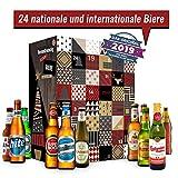 Adventskalender mit 24 Bieren aus aller Welt (24 x 0.33 L) I besonderes Adventsgeschenk für Bierliebhaber inkl. Geschenkbox I Geschenkidee für Freund Freundin Vater Mann