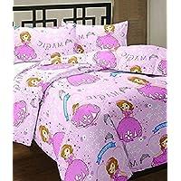 Adore u Cartoon Print Single Bed Reversible Ac Blanket,ac Blanket for Kids