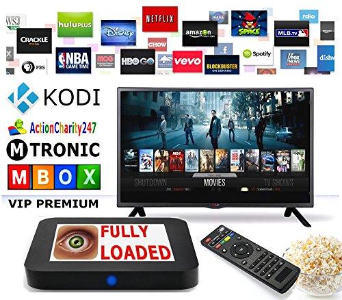 MTRONIC TV BOX M9MXQ VIP PREMIUM Original Android TV Box XBMC / Kodi