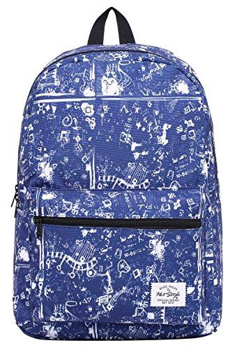 Imagen de trendmax  escolar con estampado moda | 42,5x29x13cm | para portátil 15 pulgadas | misterio alternativa