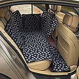 Housse de Siège pour Chien Lenezaro Couverture Siège de Voiture Imperméable Housse de protection de banquette arrière de voiture en tissu imperméable Oxford Hamac Voiture Universelle pour Voiture Camion SUV-130*150*55cm