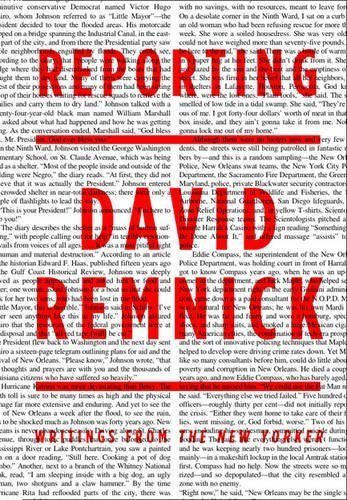 Reporting: Writings from the New Yorker by David Remnick (2014-01-16)