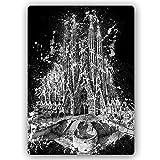 carowall CAROWALL.COM Metallbild Basilika Sagrada Familia