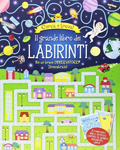 Il grande libro dei labirinti. ediz. illustrata