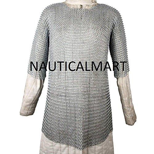Medieval Armour Renaissance Haubergeon Warrior chain mesh by ()